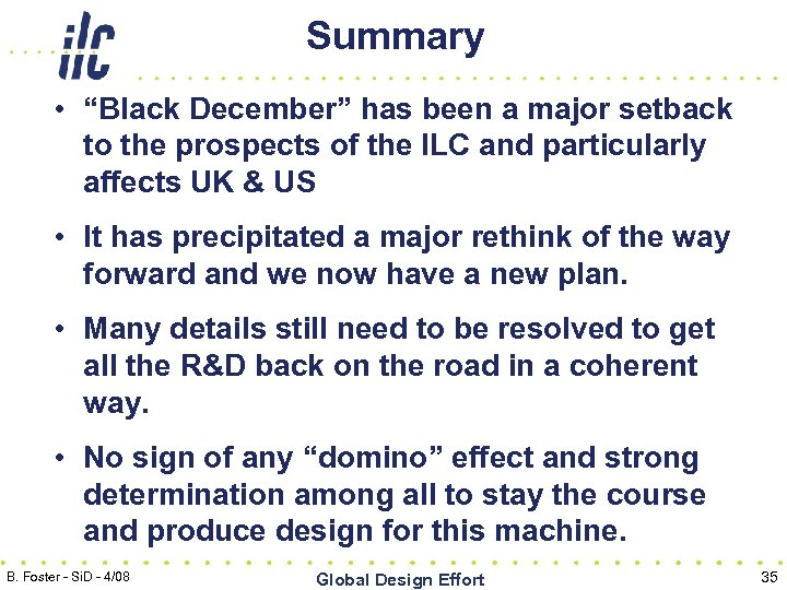 "Summary • ""Black December"" has been a major setback to the prospects of the"