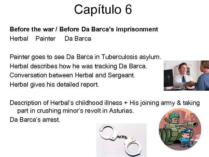 Capítulo 6 Before the war / Before Da Barca's imprisonment Herbal Painter Da Barca