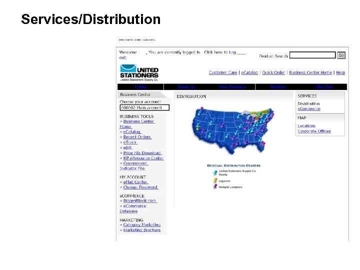 Services/Distribution