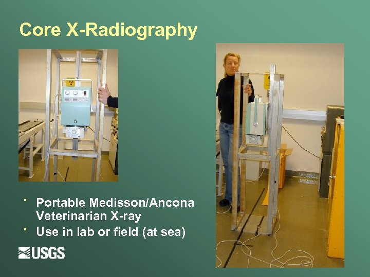 Core X-Radiography · · Portable Medisson/Ancona Veterinarian X-ray Use in lab or field (at