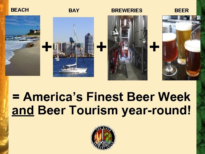 BEACH BAY + BREWERIES + BEER + = America's Finest Beer Week and Beer