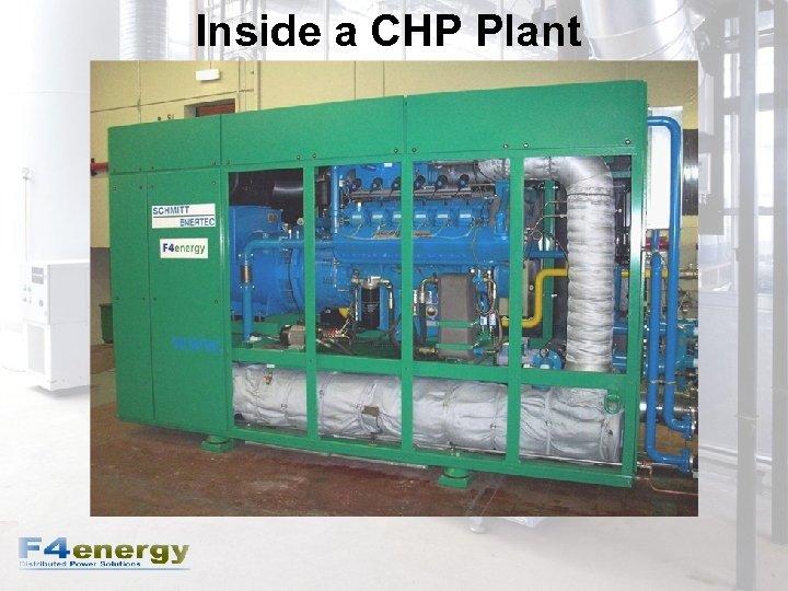 Inside a CHP Plant