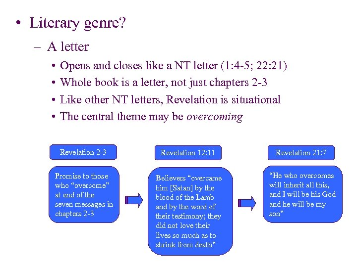 • Literary genre? – A letter • • Opens and closes like a