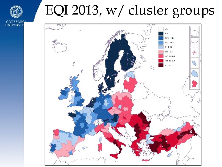 EQI 2013, w/ cluster groups