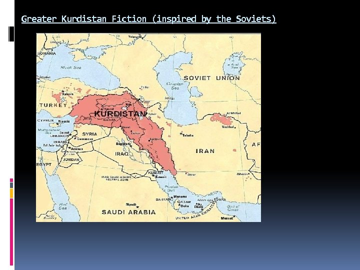 Greater Kurdistan Fiction (inspired by the Soviets)