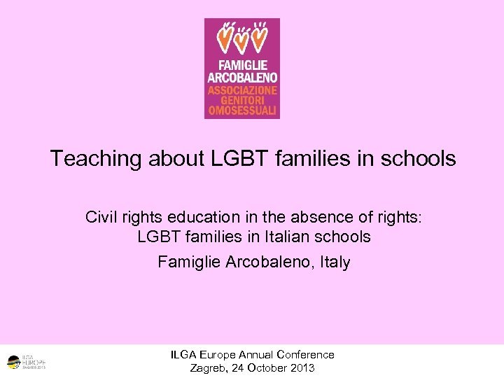 Teaching about LGBT families in schools Civil rights education in the absence of rights: