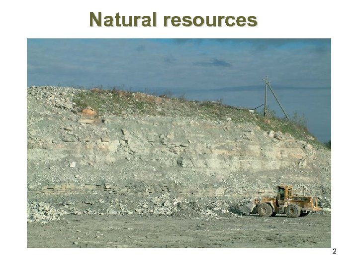 Natural resources 2