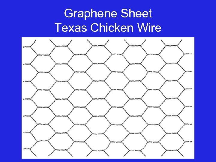 Graphene Sheet Texas Chicken Wire