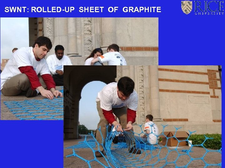 SWNT: ROLLED-UP SHEET OF GRAPHITE