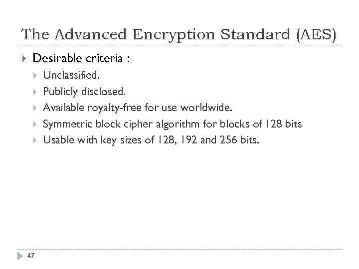 CHAPTER 2 Elementary Cryptography 1 Objectives Define