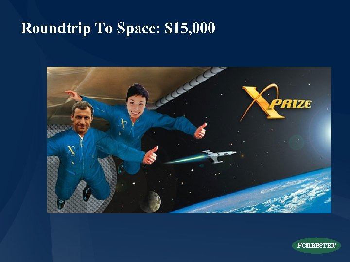 Roundtrip To Space: $15, 000