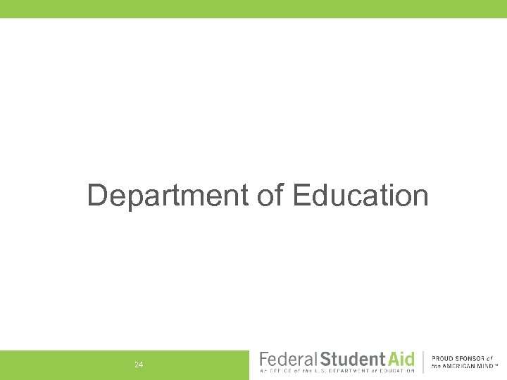 Department of Education 24