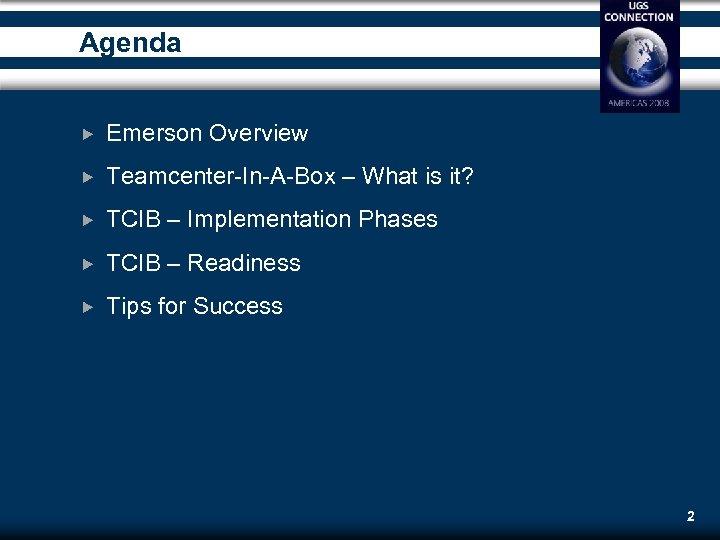 Teamcenter In A Box TCIB Tano Maenza PLM