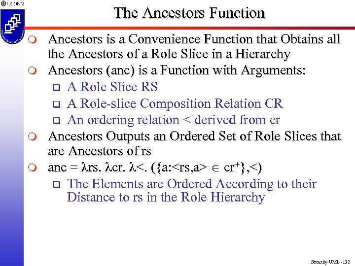 The Ancestors Function m m Ancestors is a Convenience Function that Obtains all the
