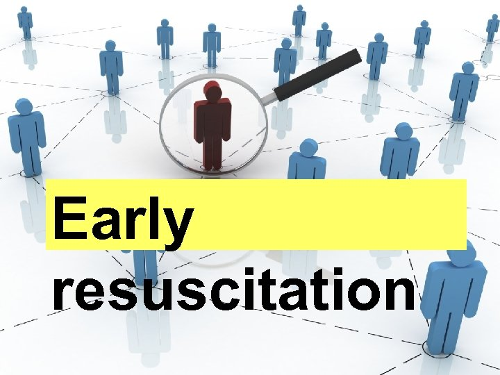 Early resuscitation