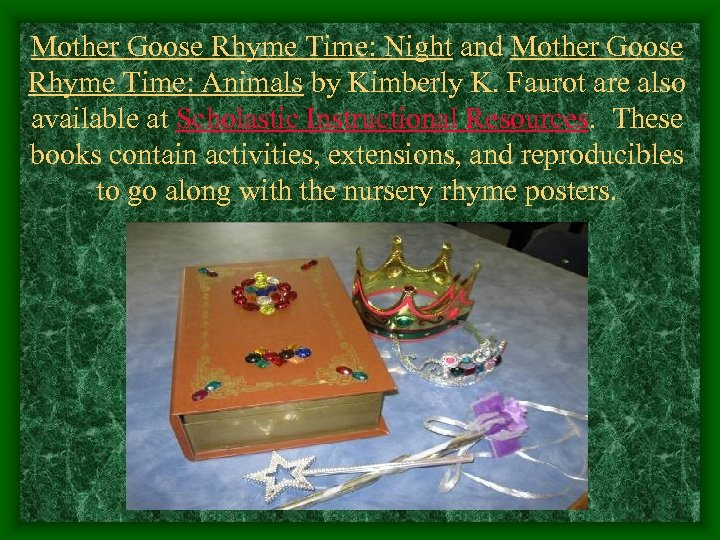 Mother Goose Rhyme Time: Night and Mother Goose Rhyme Time: Animals by Kimberly K.