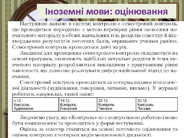 Іноземні мови: оцінювання Fokina. Lida. 75@mail. ru