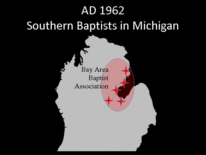 AD 1962 Southern Baptists in Michigan Bay Area Baptist Association