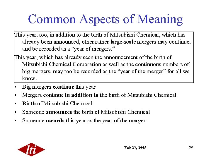 Common Aspects of Meaning This year, too, in addition to the birth of Mitsubishi