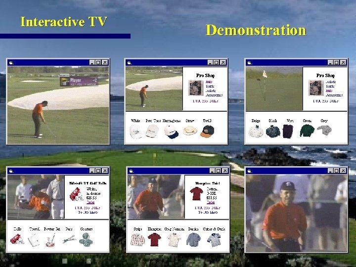 Interactive TV Demonstration