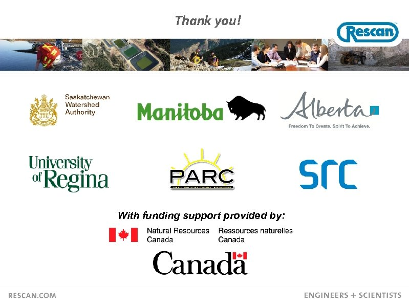 Thank you! With funding support provided by: