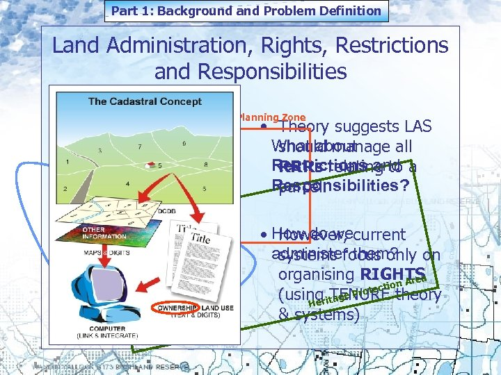 Part 1: Background and Problem Definition Land Administration, Rights, Restrictions and Responsibilities Mining Lease