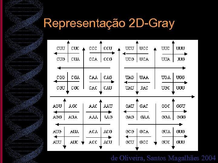 Representação 2 D-Gray de Oliveira, Santos Magalhães 2004