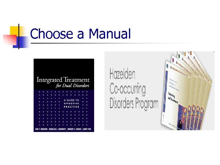 Choose a Manual
