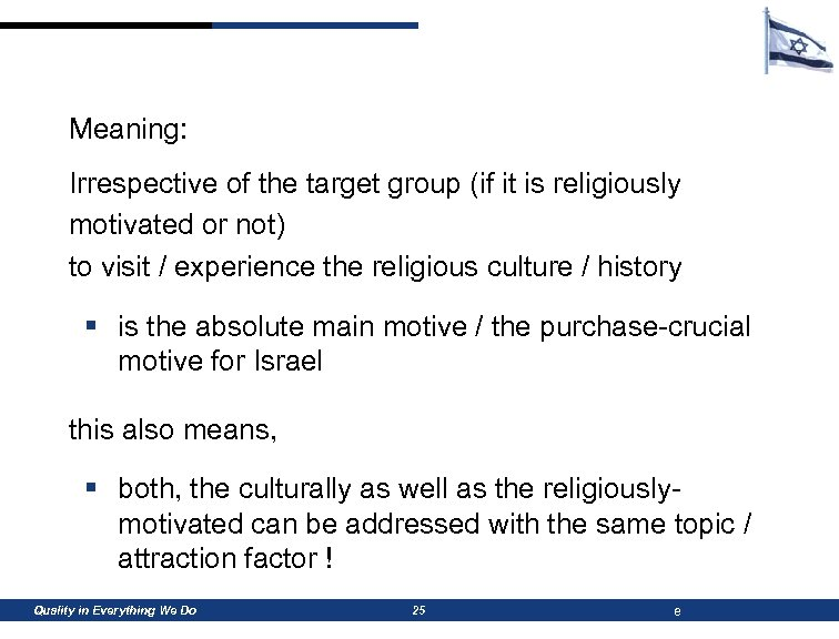 Meaning: Irrespective of the target group (if it is religiously motivated or not) to