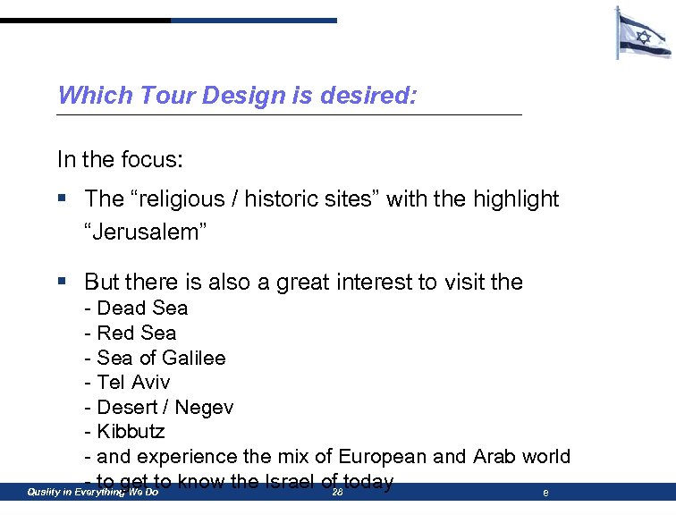 """Which Tour Design is desired: In the focus: § The """"religious / historic sites"""""""