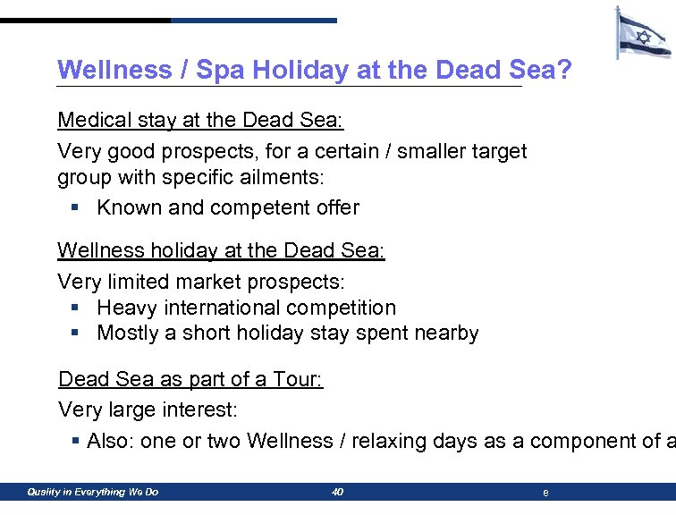 Wellness / Spa Holiday at the Dead Sea? Medical stay at the Dead Sea: