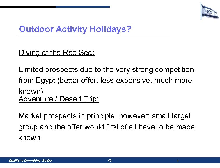 Outdoor Activity Holidays? Diving at the Red Sea: Limited prospects due to the very