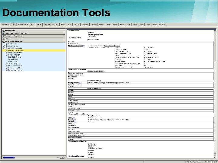 Documentation Tools