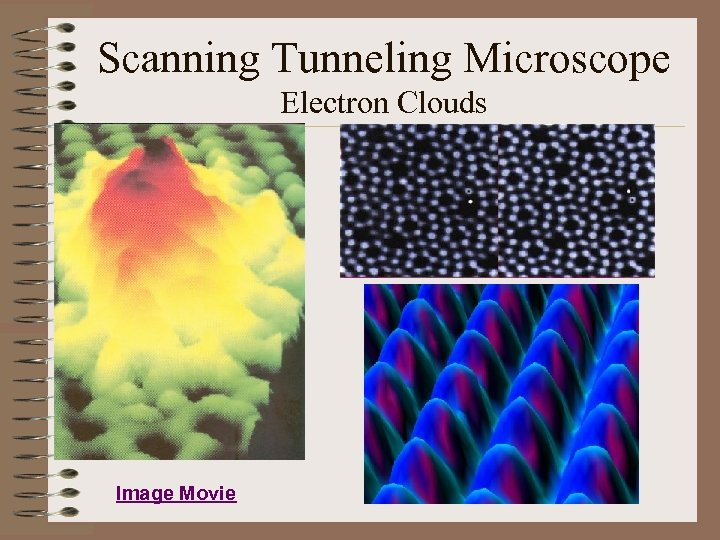Scanning Tunneling Microscope Electron Clouds Image Movie