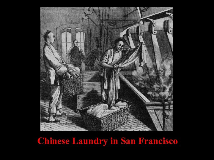 Chinese Laundry in San Francisco