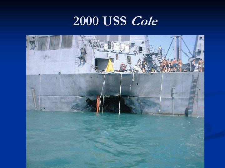 2000 USS Cole