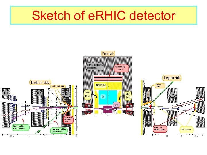Sketch of e. RHIC detector