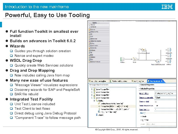 Introduction to the new mainframe Powerful, Easy to Use Tooling l Full function Toolkit