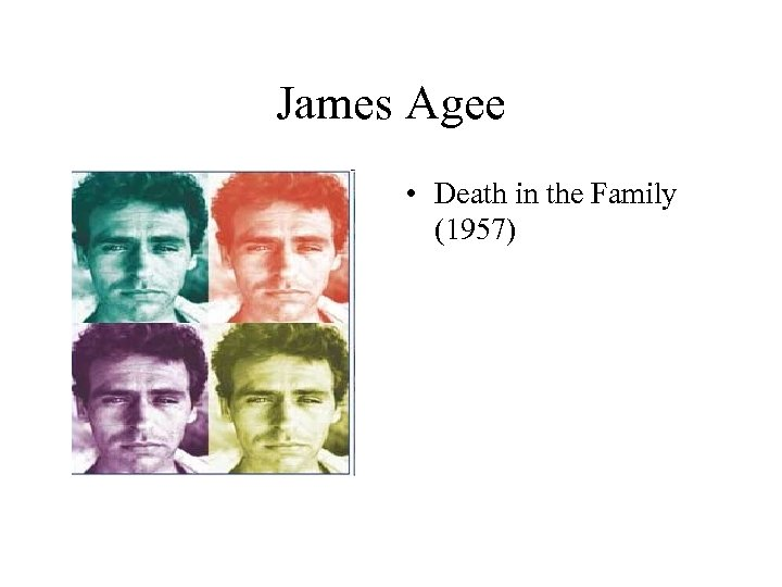 James Agee • Death in the Family (1957)