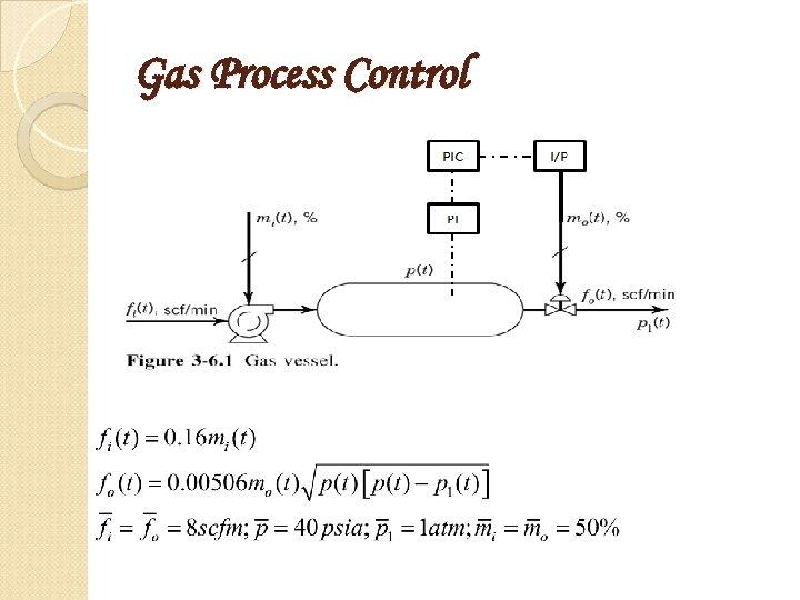 Gas Process Control