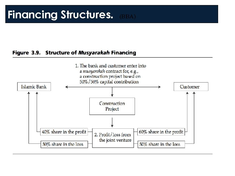 Financing Structures. (BBA)