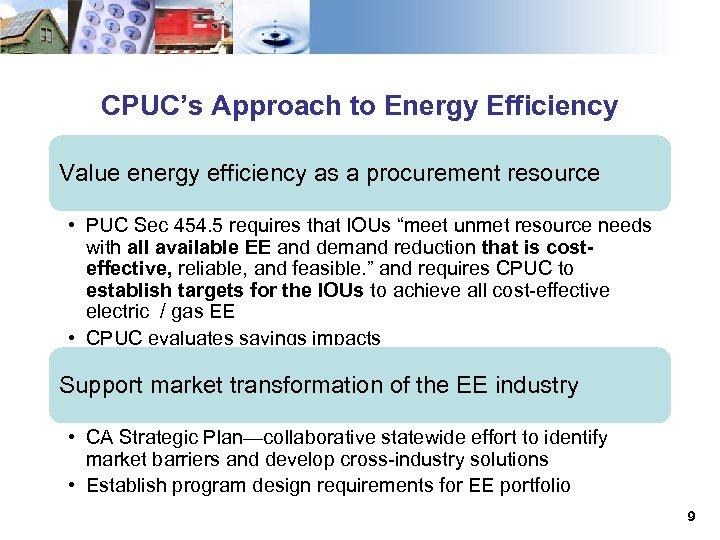 CPUC Energy Efficiency Primer Saturday March 17 2018