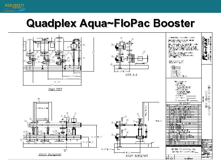 Quadplex Aqua~Flo. Pac Booster