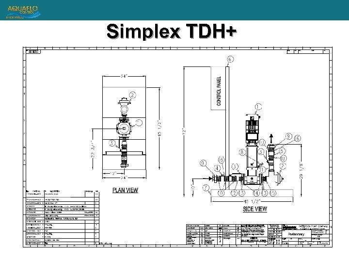 Simplex TDH+