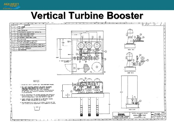Vertical Turbine Booster