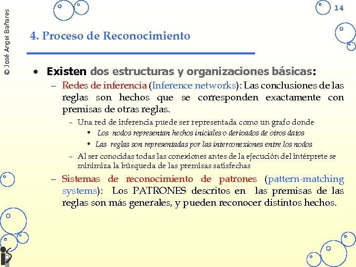 © José Angel Bañares 14 4. Proceso de Reconocimiento • Existen dos estructuras y