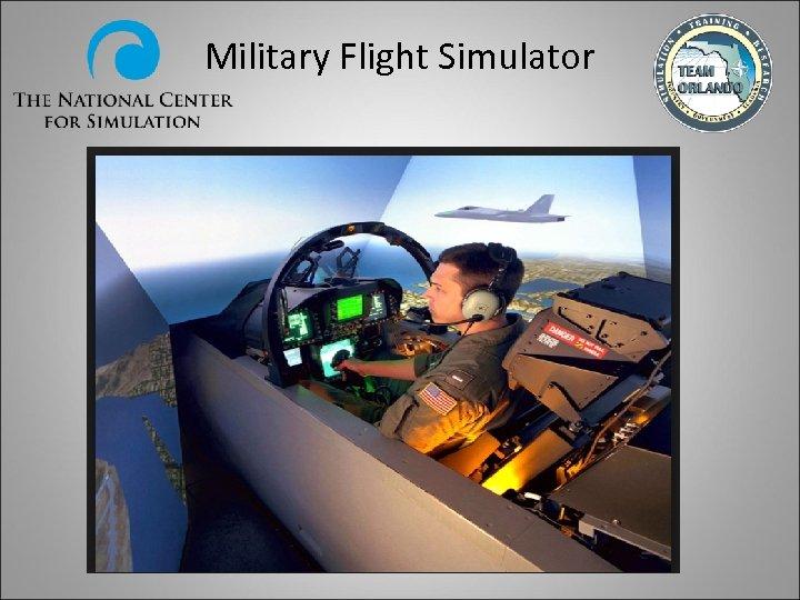 Military Flight Simulator