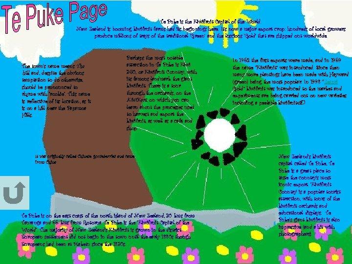 Te Puke is the Kiwifruit Capital of the World. New Zealand is booming kiwifruit