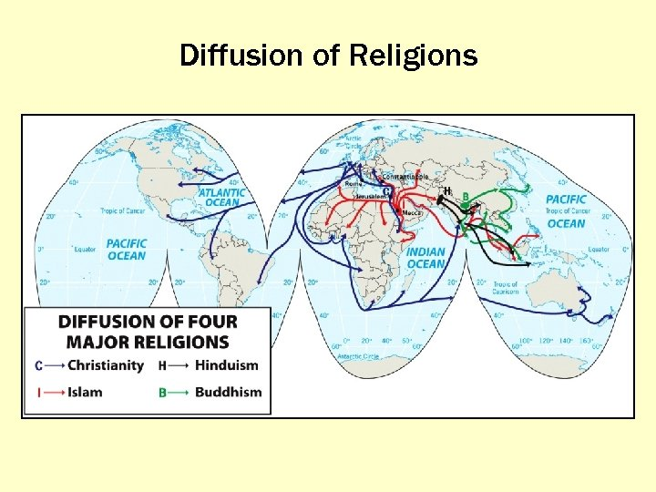 Diffusion of Religions