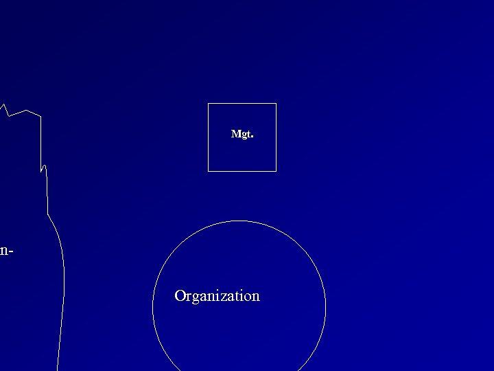 Mgt. on. Organization
